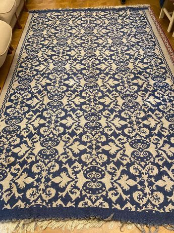Продам шерстяной ковёр бу