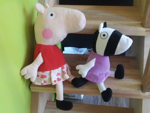 Свинка Пеппа и зебра Зузу
