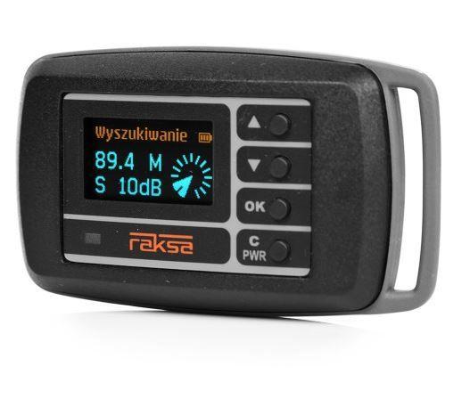 RAKSA 120 wykrywacz podsłuchów kamer WiFi, GPS, GSM, LTE, 3G, 4G