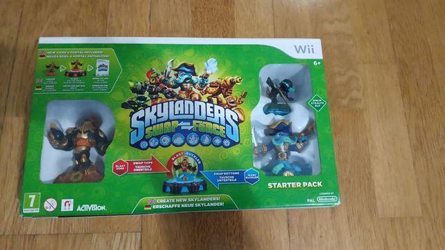 Starter pack Wii -skylanders swap force