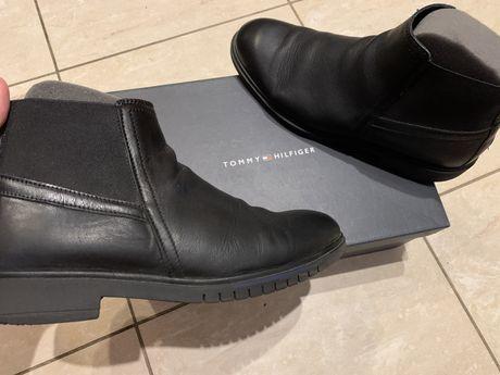Ботинки Мужские Кожаные 100% Tommy Hilfiger Португалия (INTERTOP 5899)