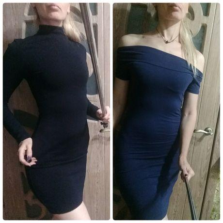 Красивые приталенные мини и миди платья, размер s