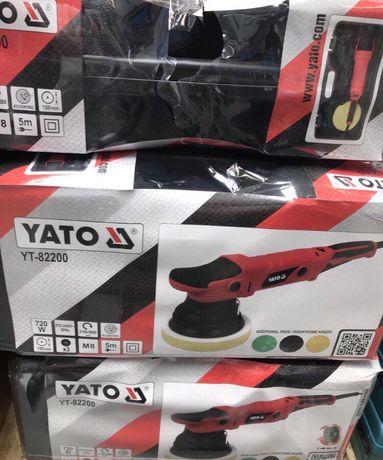 Поліровочна машинка Ято Yato YT-82200
