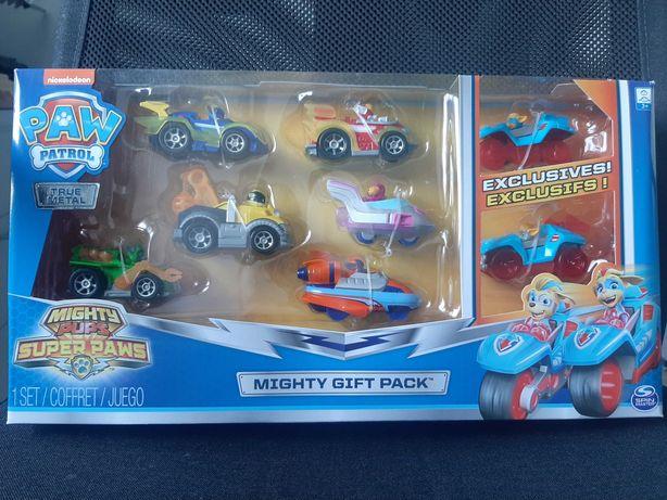 Psi Patrol Mighty Gift Pack 8 Pojazdów