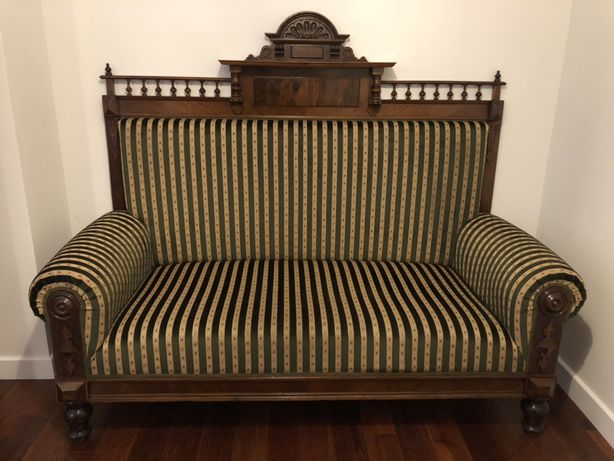 Sofa kanapa zabytkowa antyk eklektyczna