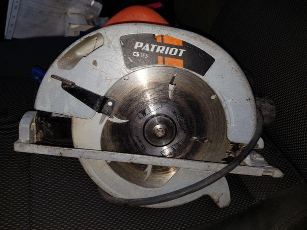 Электро циркулярка Patriot CS 185 циркулярная пила для распилки досок