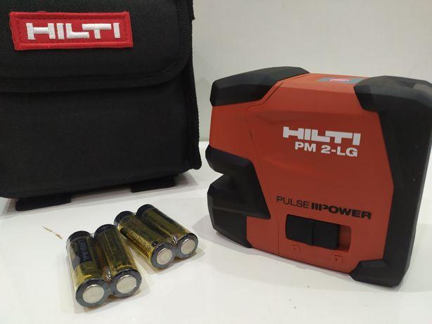 HILTI PM 2-LG laser liniowy do poziomowania ZILONY NOWY 2021r