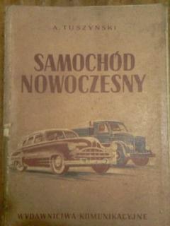 Samochód Nowoczesny A. Tuszyński 1953r.