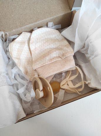 Подарочный набор соска Bibs Дания и царапки