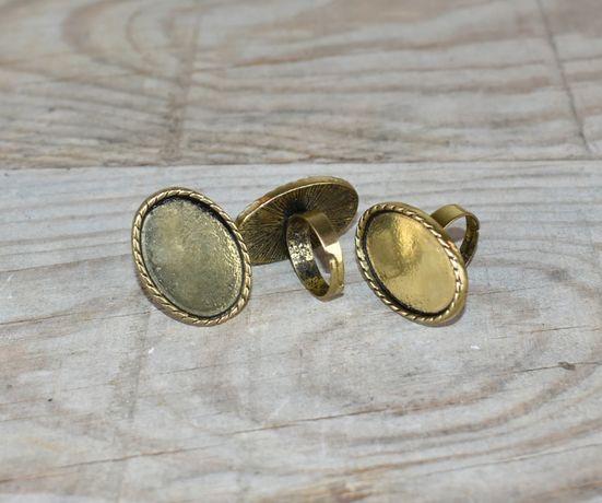 Material para bijuteria - bases anéis = 3 unidades