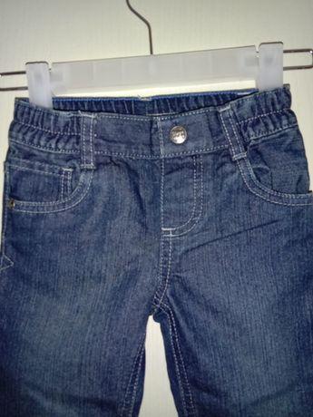 Тонкие джинсы на резинке  Lupilu