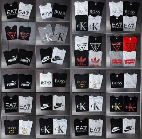 Mega wyprzedaże koszulki męskie i damskie Levi's Adidas Nike