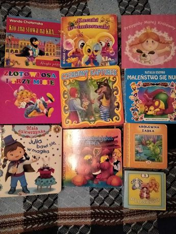 Ksiazeczki i puzzle