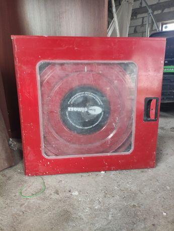Hydrant wewnątrzny z wężem półsztywnym 20m