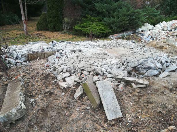 Za darmo gruz betonowy i ceglany