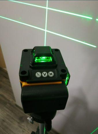 Nowy samopoziomujący laser krzyżowy PRACMANU 4d 16 linii pilot uchwyt