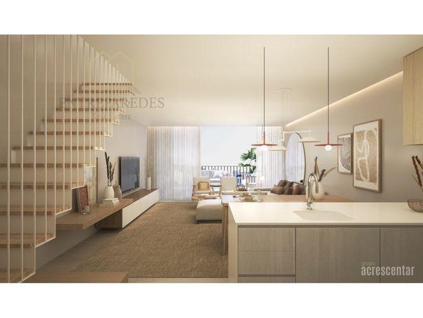 Espetacular apartamento T3 duplex em condomínio fechado c...