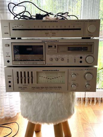 Marantz Wmacniacz PM550 DC, Deck SD 3030,Tuner ST 310