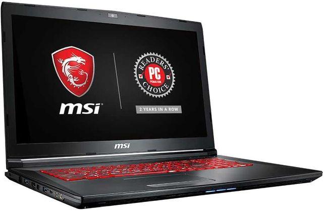 Ноутбук MSI GL72M 7RDX-1087PL Intel I7 черный
