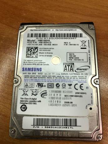 """Disco Samsung 2,5"""" 160GB como novo"""