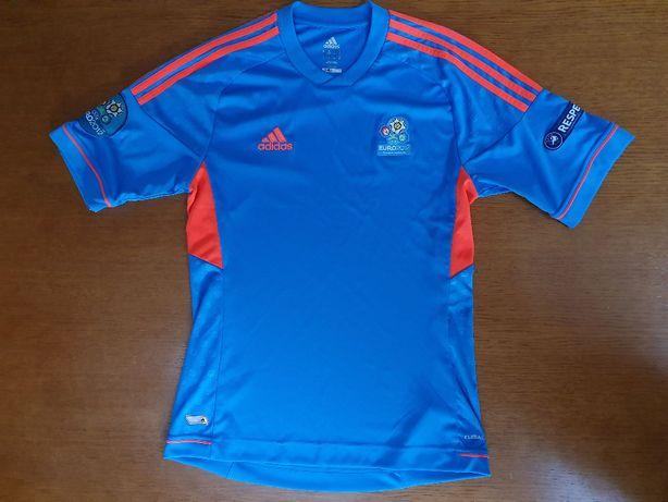 Adidas EURO 2012 koszulka i kurtka chłopca od piłek