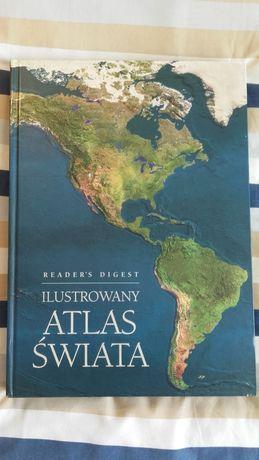 KSIĄŻKA Wielki Ilustrowany ATLAS ŚWIATA Reader's Digest. POZNAŃ PROMO