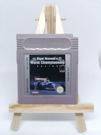 Nigel Mansell's World Championship Game Boy Gameboy Classic