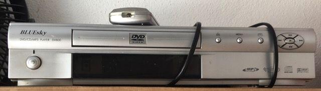 Leitor DVD/ CD/ MP3 com comando