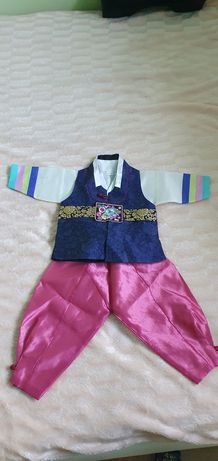 Корейский ханбок для мальчика
