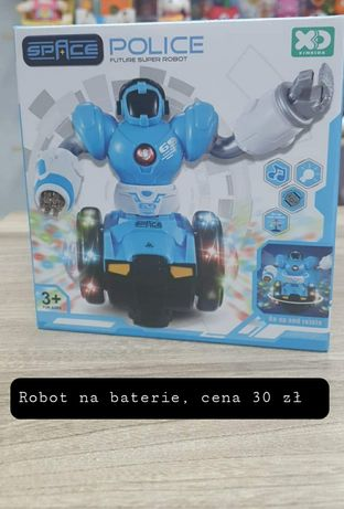 Nowy robot na baterie