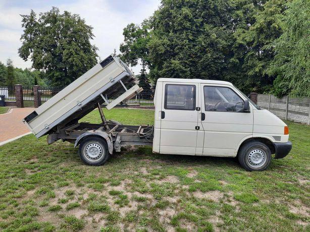Witam sprzedam Wolkswagena T4 1,9 TD ze skrzynią typu wywrotka.