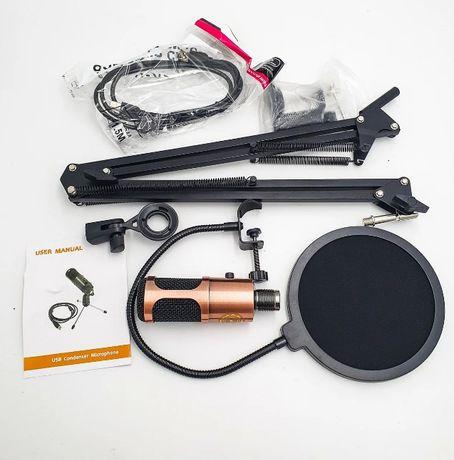 M900U со стойкой, микрофон студийный, большой комплект