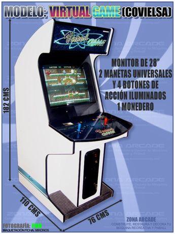 Maquina Arcade + MVS 1 Slot + Metal Slug 2 + Puzzle Bobble