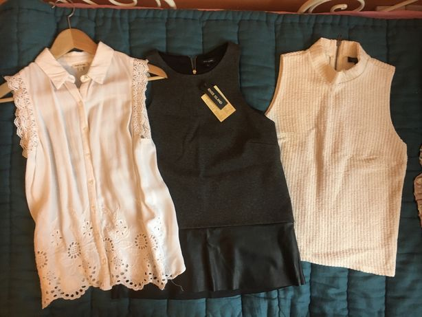 Paka ubrań dla dziewczyny/nastolatki, xs/s, zara, mango, booso