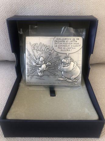 Medalha Asterix em Bronze Prateado
