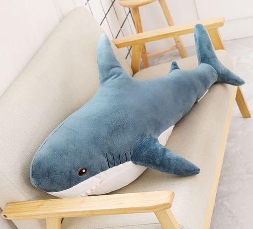 Мягкая плюшевая Акула BLÅHAJ БЛОХЕЙ IKEA-дизайн подарок на 8 марта