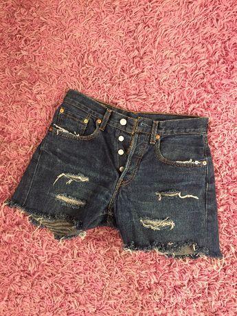 Spodenki krótkie spodnie jeansy Levis