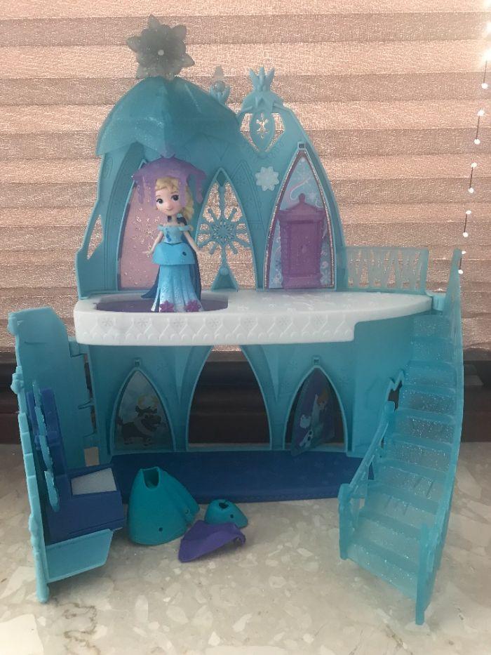 Zamek + Elsa rozbieralna z ubrankami Warszawa - image 1