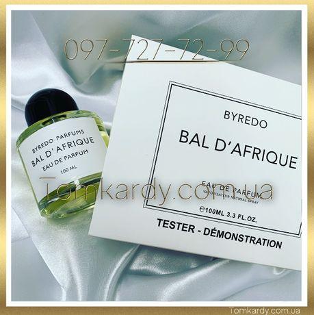 Духи Byredo Bal D'Afrique TESTER 100 ml. Байредо Бал Африка ТЕСТЕР