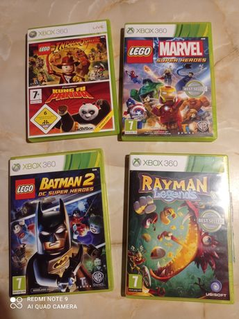 Rayman, LEGO Batman, Super Heroes, Xbox 360