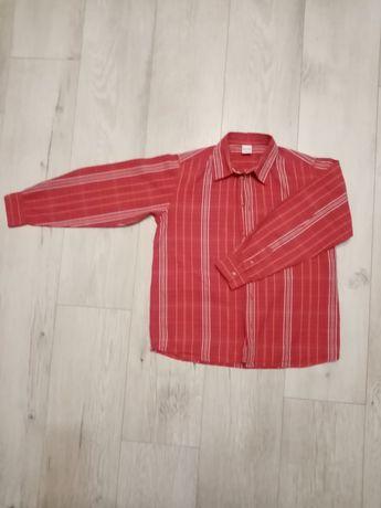 Koszula w kratkę, kratę Tup tup rozm. 140 cm