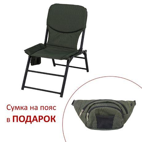 Кресло складное Титан Витан зеленый, дубок, лес и сумка в подарок