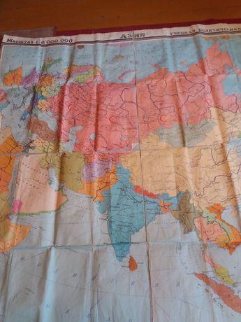 Карта Азия