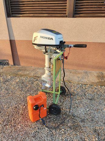 Silnik zaburtowy Honda 5 km stopa S 2010 rok produkcji