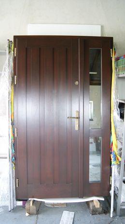 Drzwi wejściowe 80cm+40cm