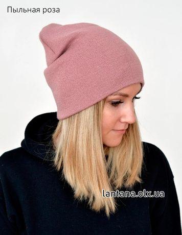 Стильная зимняя женская шапка