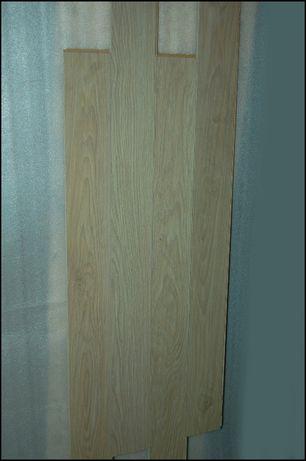 Panele podłogowe - deska - v-fuga - bielony dąb - 10mkw. - 19zł/mkw.