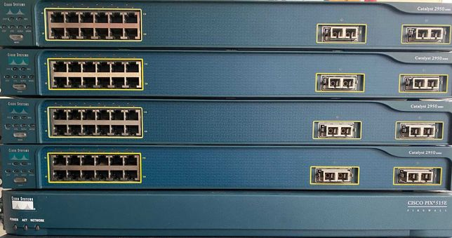 Lote Cisco Switch Catalyst Firewall PIX CCNA CCNP CCIE