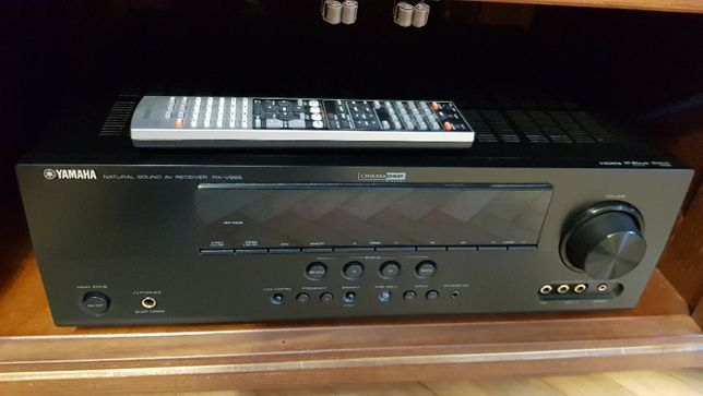 Аудио-видео ресивер 7.1 YAMAHA RX-V665+DVDS663