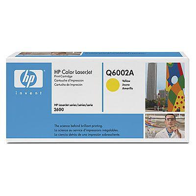 Toner HP Color Laserjet 124A Amarelo - Q6002A (Original e Novo)